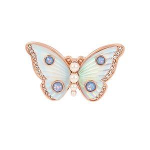 Betsey Johnson Flutterbye Butterfly Ring